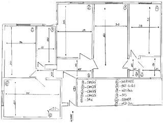 VANZARI apartamente 4 camere DIHAM Bulevardul Basarabia